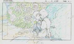 Film: Spirited Away (千と千尋の神隠し) ===== Layout Design - Scene: I Must Go ===== Hayao Miyazaki