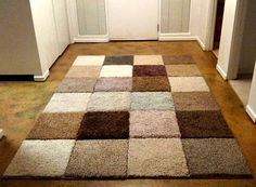 """The caption says this is from old """"fabric samples"""" but these look like carpet samples to me. Handsome."""
