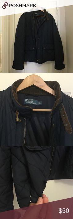 35b0fa30bd4c Men s Polo by Ralph Lauren Jacket Navy Blue jacket. Worn lovingly. Needs a  new