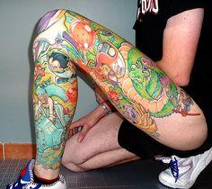 Google Image Result for http://thedaoofdragonball.com/blog/wp-content/uploads/2011/10/super_leg_vegeta_bulma_krillin_freeza_shenron_goku_dbz_tattoo.jpg