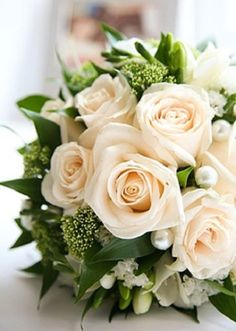 Beautiful bridal bouquet / Volusia county weddings/ www.callaraesfloralevents@yahoo.com