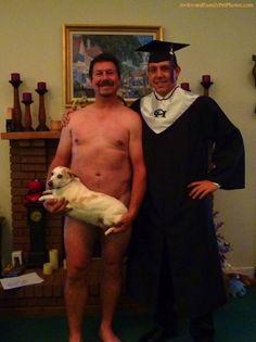 This terribly awkward family photo.