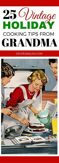 Grandma's always have the best kept secrets...especially when it comes to cooking. I've learned a lot of things over the years from her wisdom. #life #cooking #tips #REPIN