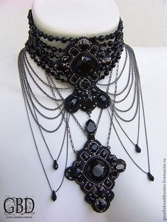 a67bdc1abd25d 30 Best Choker Project images in 2017 | Jewelry, Jewelry design, Chokers