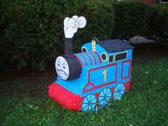 Piñatas~Thomas the train piñata by Marlenespinatas