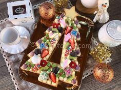 torta natalizia Fun Cookies, Cake Cookies, Cupcake Cakes, Christmas Sweets, Christmas Time, Xmas, My Birthday Cake, Number Cakes, Cookies And Cream