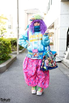 Participants in the Harajuku Fashion Walk #15