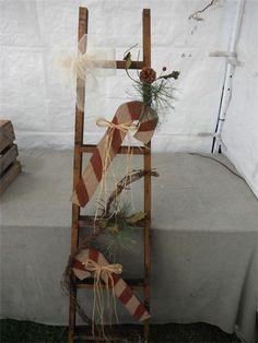 Seasonal Christmas Ladder