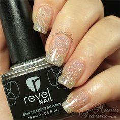 Revel Nail Gel Polish Disco - Michelle's fav glitter topper