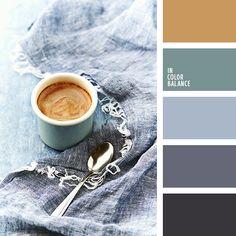 графитовый, оттенки серо-голубого, палитра для зимы 2018, пастельный зеленый, серый с оттенком синего, сине-серый цвет, темно серый, холодные оттенки серого, холодный зеленый, цвет корицы, цвет кофе, цвет кофейной пенки, цветовая палитра для