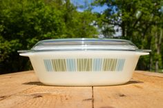 Pyrex oval casserole  matchmaker by SecondHandSandy on Etsy, €18.90