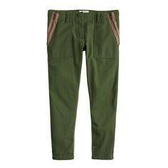 J.Crew - Girls' Lightweight side-zip utility Pant