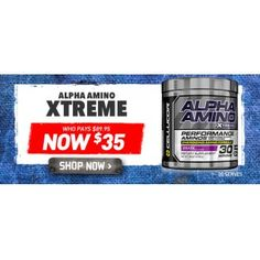 $35.00 (Was $89.95) CELLUCOR ALPHA AMINO XTREME 30 SERVE @ Shotgun - Bargain Bro