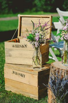country chic wedding // photo: l&v photography