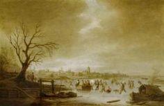 Isaac Jansz. Van Ostade - Winter Landscape
