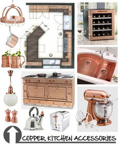 """Copper Kitchen"" by ambervogue on Polyvore"