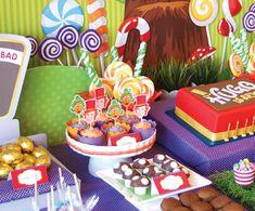 wonka party food