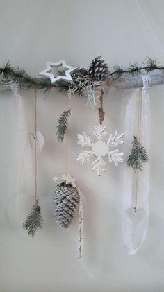Türkränze - ♥Fensterdeko Winter♥Schneeflocke♥ - ein Designerstück von decostar bei DaWanda