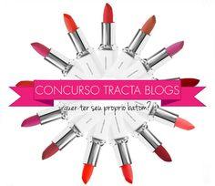 Concurso cultural, Tracta, promoção, batom, batons, crie seu próprio batom, Tracta Blogs II, 2, Resenha, Tutorial, post, blogueira, Starving