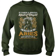 I Love Aries Calm Shirts & Tees