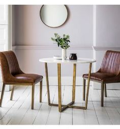 The Gatsby round dining table, with its smooth marble table top & brushed gold legs, is a luxury table fit for royalty. Shop the Gatsby range online today. Marble Dining Table Set, Rectangle Dining Table, Dining Room Table, Round Tables, Kitchen Tables, Room Kitchen, Dining Area, Upholstered Dining Chairs, Dining Room Furniture