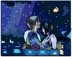 Shadowbox Mock-up: Tidus and Yuna by The-Paper-Pony on DeviantArt From Final Fantasy X