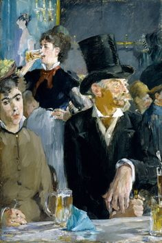"""At The Café"" by Edouard Manet"