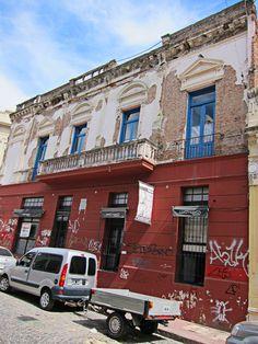 Fachada en San Telmo, Buenos Aires