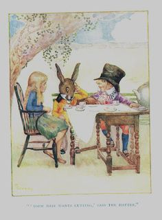 Millicent Sowerby - Alice in Wonderland