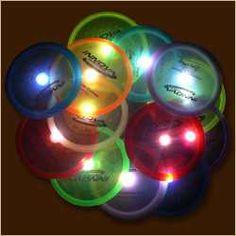 for night disc golf! badass! shut up, its a real sport!