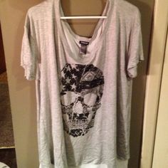 Torrid size 2 shirt I adore this shirt, but it is huge on me! torrid Tops Blouses