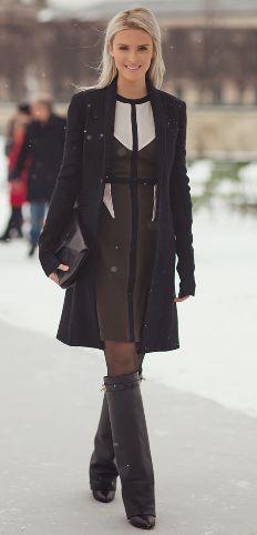 Givenchy boots on Kate Davidson Hudson