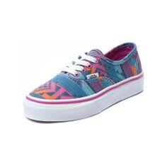 Youth/Tween Vans Authentic Inca Skate Shoe Multi