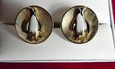 Original Vintage Figural Penguin Cufflinks