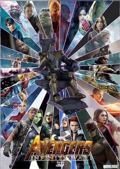 'Avengers: Infinity War' (2018-2019) will feature 67 Marvel characters - visit to grab an unforgettable cool 3D Super Hero T-Shirt!
