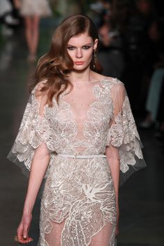 View entire slideshow: Spring 2015 Couture on http://www.stylemepretty.com/collection/996/