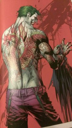 ☆ The Joker :¦: By Jim Lee and Frank Miller ☆