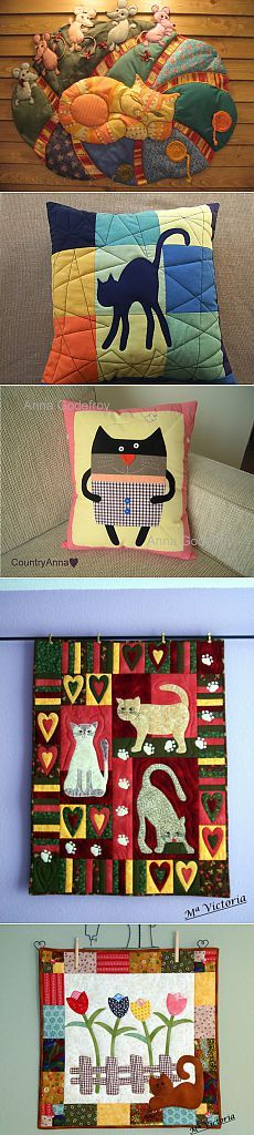 Pillow patchwork - Crafts