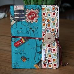 notebook cover tutorial- All of my kids journals would look like this in my perfect dream world