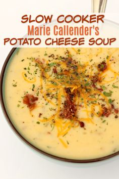 Instant Pot Marie Callender's Potato Cheese Soup—a simple but delicious cheesy potato soup that you can make at home in your Instant Pot! Similar to the recipe for potato cheese soup that you can order at Marie Callender's. Recipe For Potato Cheese Soup, Potato Cheese Soups, Cheesy Potato Soup, Loaded Baked Potato Soup, Potato Recipes, Recipe For Stewed Potatoes, Cheesy Potatoes, Pizza Recipes, Instant Pot Potato Soup Recipe