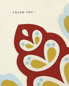 Say thank you with a greeting card as sincere as you are. This one was lovingly made in the Philippines from a variety of handmade materials