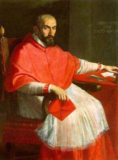 Cardinal Agucchi, Domenichino Check more at http://artunframed.com/Gallery/shop/cardinal-agucchi/