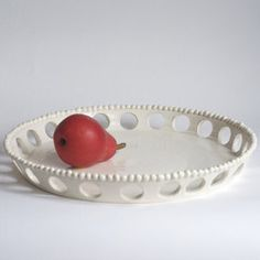 Platter with Holes. Francis Palmer
