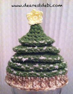 Ravelry: Newborn Christmas Tree Crochet Hat pattern by Debi Dearest