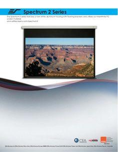 Elite spectrum2 screen by DukaneAVMarketing via slideshare