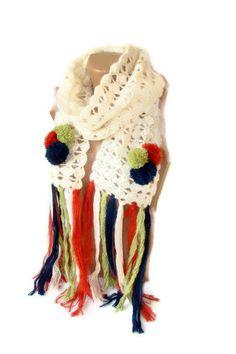 crochet scarf,scarves