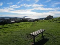 Cool view from Mt Eden Auckland
