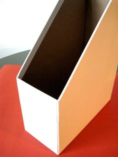 Cardboard Magazine Holders How To Make Custom Magazine Files  Magazine Files Filing And