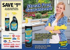 Coupons for Invisible Glass Premium Glass Cleaner Window Cleaning Tips, Cleaning Hacks, Invisible Glass, Window Cleaner, Coupon, Website, Coupons, Cleaning Tips
