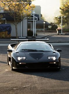 ◆ Visit MACHINE Shop Café ◆ (Black Lamborghini Diablo GT2)